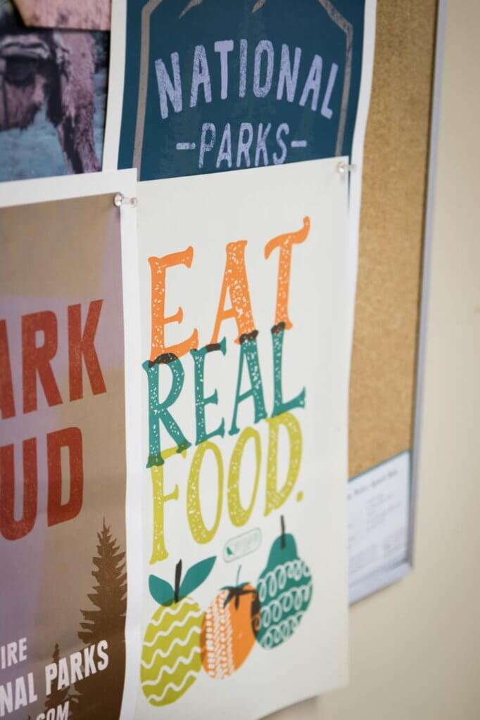 Eat Real Food Sign